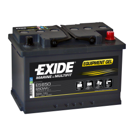 Exide ES650 Gel (096) Exide Leisure