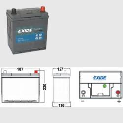 Exide EA386 Premium (054H)