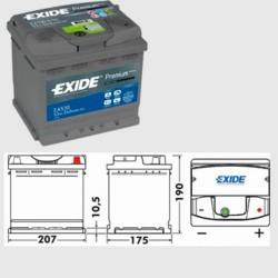 Exide EA530 Premium (012/079)