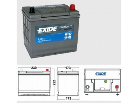 Exide EA654 Premium (005L)