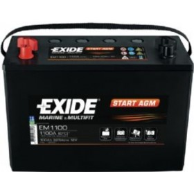 Exide EM1100 Start AGM (664) Exide Leisure