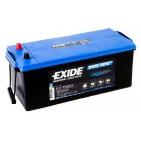 Exide EP1500 Dual AGM (629) Exide Leisure