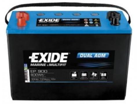 Exide EP900 Dual AGM (664) Exide Leisure