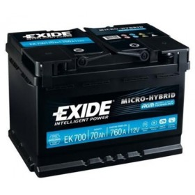Exide EK700 Stop/Start (096 AGM) (096) Exide Stop/Start