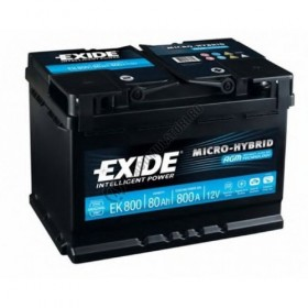Exide EK800 Stop/Start (115 AGM) (115) Exide Stop/Start
