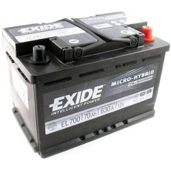 Exide EL700 Stop/Start (096 EFB) Exide Stop/Start