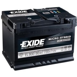 Exide EL800 Stop/Start (110 EFB) Exide Stop/Start