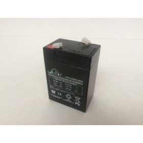 Leoch LP4-6 6v 4.0Ah AGM Battery Leoch Alarm