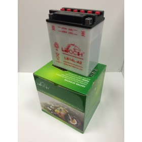 Leoch YB14L-A2 12v 14Ah Motorcycle battery (YB14LA2)