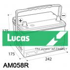 Lucas Premium LP058R (AM58R)