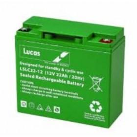 Lucas LSLC22-12 Mobility Battery (22-12) Lucas Alarm