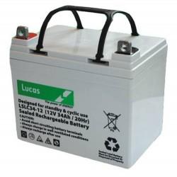 Lucas LSLC34-12 Mobility Battery (34-12) Lucas Golf Trolley