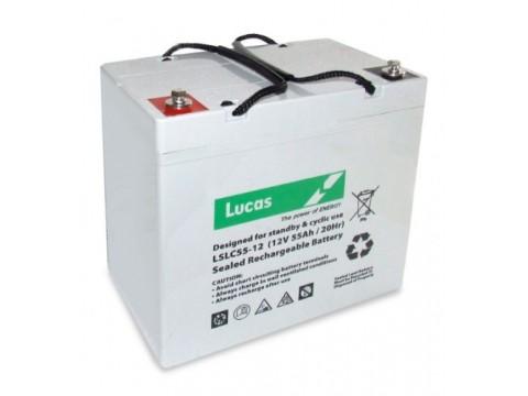 Lucas LSLC55-12 Golf Trolley Battery (55-12) Lucas Industrial