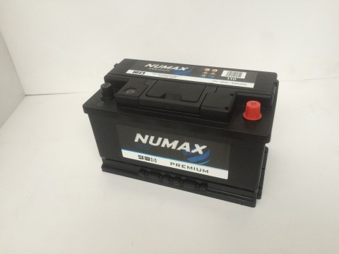 Numax 110 80Ah 740CCA Car Battery