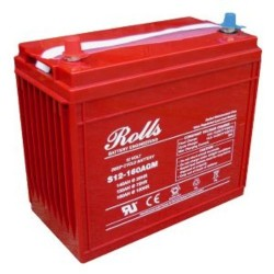 Rolls 12V S12-160AGM Deep Cycle Battery Rolls Leisure