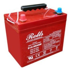Rolls 12V S12-95AGM Deep Cycle Battery Rolls Agricultural