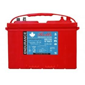 Rolls 12v 12FS105 12v 105Ah Deep Cycle Battery Rolls Marine
