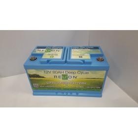 Relion Lithium RB80DP 12v 80Ah Lithium Battery