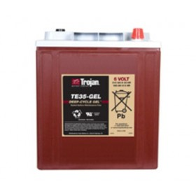 Trojan TE35-GEL 6V Deep Cycle Gel  Trojan Golf Buggy