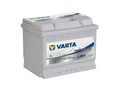 Varta LFD60 Dual Purpose 930 060 056 (027) Varta Leisure