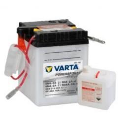Varta 6N4A-2A-4 Funstart Freshpack Motorcycle Battery (004 014 001) (6N4A2A4) 12V 4Ah Varta Funstart 6 Volt
