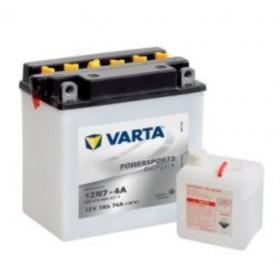 Varta 12N7-4A Funstart Wet Motorcycle Battery (507 013 004) (12N7-4A) 12V 7Ah Varta Funstart Wet
