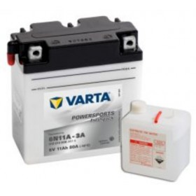 Varta 6N11A-3A Funstart Freshpack Motorcycle Battery (012 014 008) (6N11A3A) 12V 12Ah Varta Funstart 6 Volt