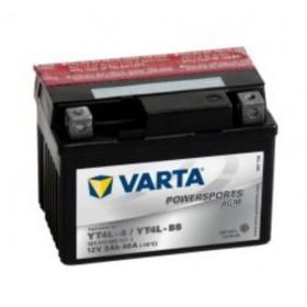 Varta YT4L-BS Funstart AGM Motorcycle Battery (503 014 003) (YTX4LBS) (YTX4L-BS) 12V 3Ah Varta Funstart AGM