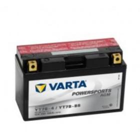 Varta YT7B-BS Funstart AGM Motorcycle Battery (507 901 012) (YT7BBS) (YT7B-4) 12V 7Ah Varta Funstart AGM