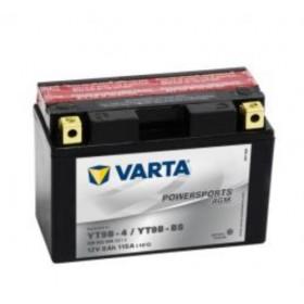Varta YT9B-BS Funstart AGM Motorcycle Battery (509 902 008) (YT9BBS) (YT9B-4) 12V 9Ah Varta Funstart AGM