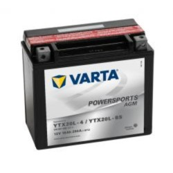 Varta YTX20L-BS Funstart AGM Motorcycle Battery (518 901 026) (YTX20LBS) 12V 18Ah Varta Funstart AGM
