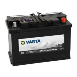 Varta H9 Promotive Black 600 123 072  Varta Industrial