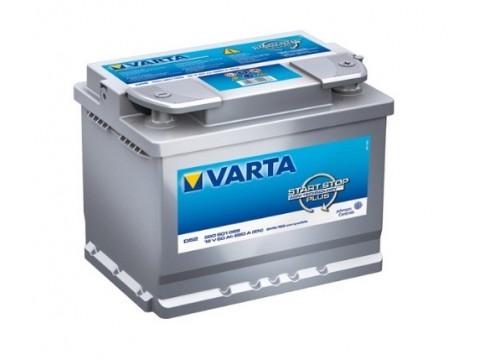 Varta D52 Start-Stop Plus 560 901 068 (027) Varta VRLA & AGM