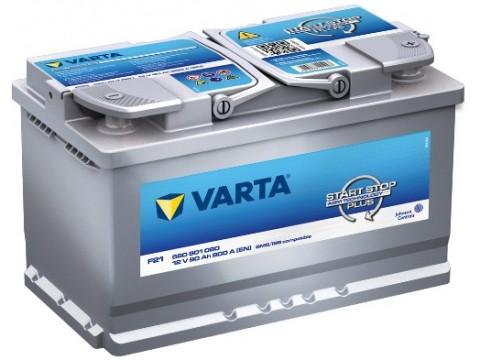 Varta F21 Start-Stop Plus 580 901 080 (115) Varta VRLA & AGM