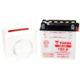 Yuasa YB9-B 12v 9Ah Motorcycle Battery
