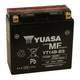 Yuasa YT14B-BS 12v 12.6Ah AGM Motorcycle Battery