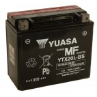 Yuasa YTX20L-BS 12v 18.9AQh AGM Motorcycle Battery