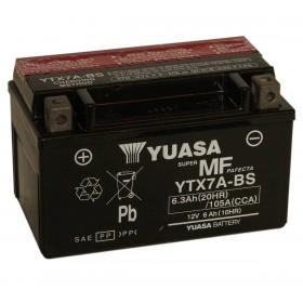 Yuasa YTX7A-BS 12v 6.3Ah Motorcycle AGM Battery
