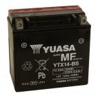 Yuasa YTX14-BS 12V 12.6Ah Motorcycle AGM Battery