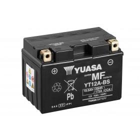 Yuasa YT12A-BS 12v 10.5Ah AGM Motorcycle Battery