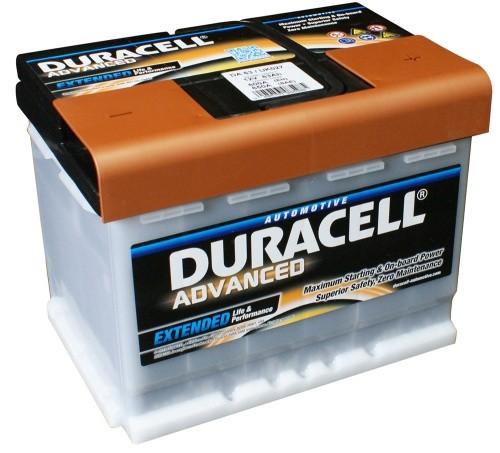 Duracell DA63H Advanced Car Battery (027